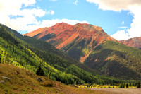 Along the Million Dollar Highway - Ouray to Silverton