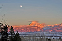 Teton Valley Moonrise/Sunset
