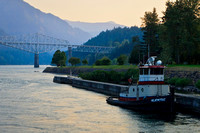 Cascade Locks, Columbia River Gorge – Oregon