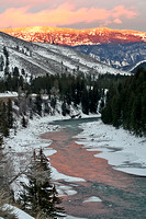 Alpenglow - Jackson, Wyoming