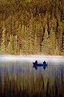 Sunrise Fishing on Patricia Lake