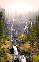 Tangle Falls, Icefields Parkway, BC, Canada