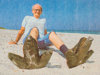 Tony Signorini, Clwr. Beach,  photo of news print. St. Pete Times, 6/11/88 in Floridian section