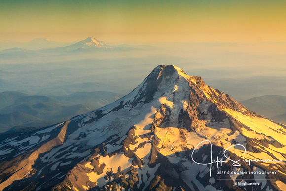Mount Hood and the Cascade Range