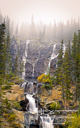 Tangle Falls, Icefields Parkway, Alberta, Canada
