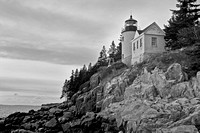 Bass Harbor Head Lighthouse, Mount Desert Island, Maine