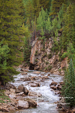 Roaring Fork River along CO Hwy. 82, Leadville to Aspen over Independence Pass